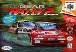 Top Gear Rally 2 (USA) Box Scan